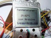 Termómetro con LCD 3310