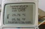 Termómetro con LM35+LCD