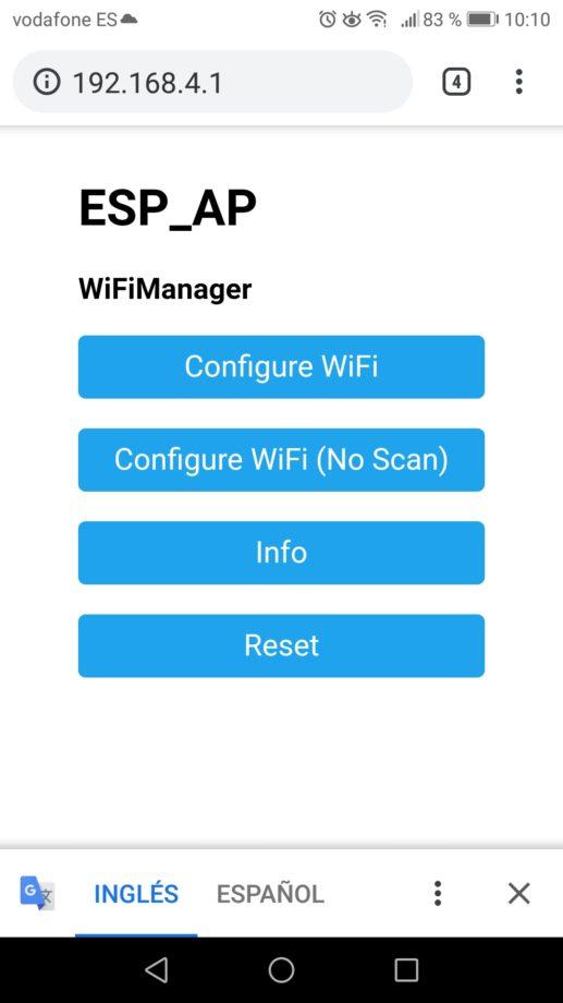 Introducción a la librería WiFiManager.
